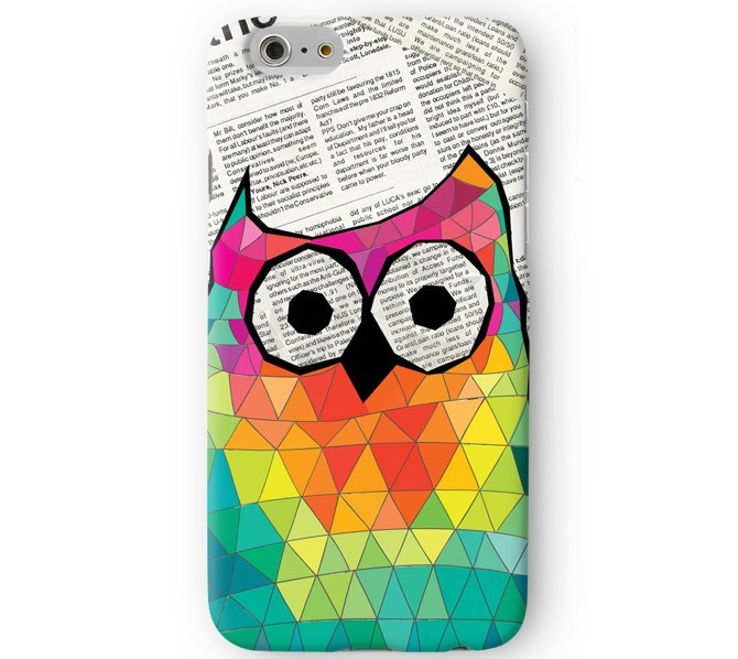 3D-iPhone_206_20-_20F_ULTCS-3D0161_Cute_20and_20Funny_20Geometric_20Triangle_20Owl_20on_20Newspaper_2048x2048-1 Мало именных чехлов? Держи чехлы с фото!