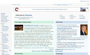 Wikipedia, the free encyclopedia - Google Chrome